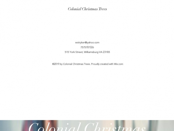 colonialchristmastrees.com