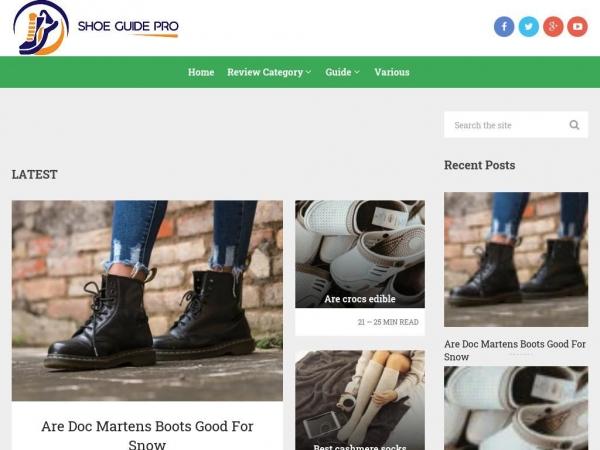 shoeguidepro.com