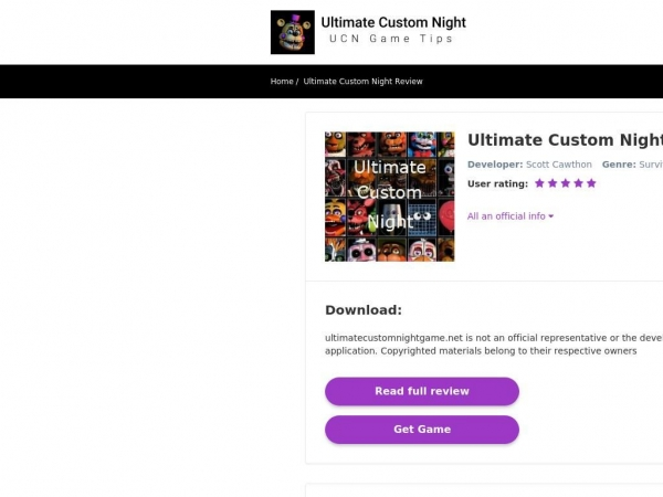 ultimatecustomnightgame.net