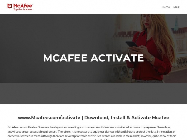 mcafee-activate.a4activate.co.uk